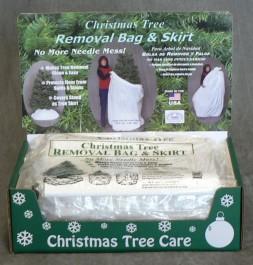 removal bag display 48pk - Christmas Tree Bags