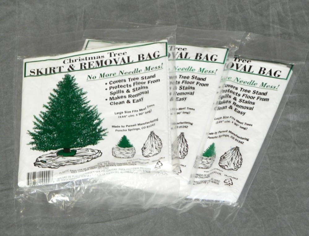 Christmas Tree Removal Bag, Bulk 50/pk – Pursell Manufacturing